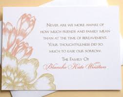 thank you cards for funeral thank you sympathy cards with a pretty green and flower