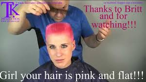 theo knoop new hair today girl your hair is pink and flat britt by theo knoop youtube