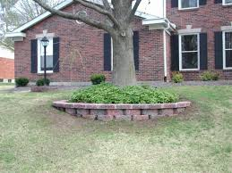 Simple Landscape Ideas by Red Brick Landscaping Ideas Cebuflight Com