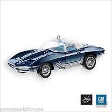 hallmark 2007 mako shark i chevrolet 1961 corvette ornament ebay
