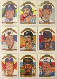 Johnny Bench Fingers Lot Detail 1982 91 Donruss Diamond Kings Baseball Card