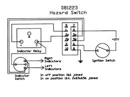 hazard indicator wiring diagram hazard wiring diagrams