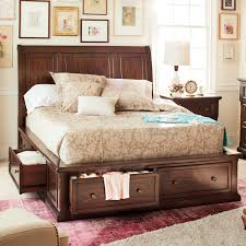 King Size Bed In Small Bedroom Ideas Double Duty Bed For People With Too Much Stuff Hanover Queen