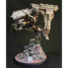 fantasy xii sculpture arts pre painted pvc statue balthier u0026 fran