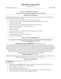quality assurance resume exles director quality assurance resume software quality assurance