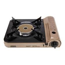 portable table top butane stove portable butane gas tabletop stove burner light brown tmart