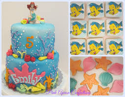 the mermaid cake pink apron confections mermaid cake and cookies