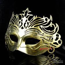 mardi gras mens mask vintage silver gladiator crown mens mask mardi gras