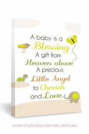 blessing baby custom baby canvas a baby is a blessing my baby canvas