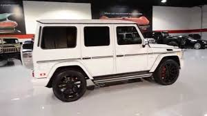 mercedes jeep white 2015 mercedes benz 4matic g63 amg suv youtube