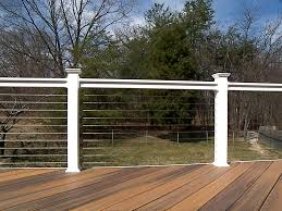 stainless steel cable railing systems modern u2014 railing stairs and
