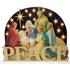 Home Interiors Nativity by Holiday Time Christmas Decor 14
