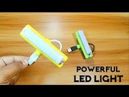 rechargeable light for home how to make a powerful rechargeable led light at home diy homemade
