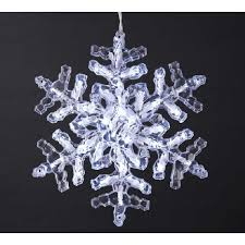 snowflake lights novelty lights and lighted tree toppers ksa 12inch led