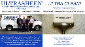 Upholstery Cleaning Surrey Ultrasheen Ultra Clean