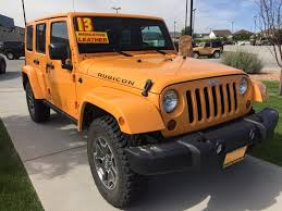 orange jeep rubicon jeep wrangler suv in wyoming for sale used cars on buysellsearch