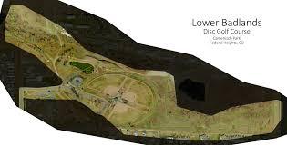 Westminster Colorado Map by Camenisch Park The Hylands Professional Disc Golf Association