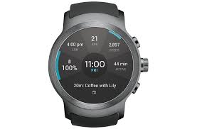 lg smart watch sport for at u0026t with android wear 2 0 lg usa