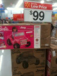 barbie cars at walmart walmart barbie jeep 99 still available at various locations al com