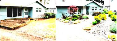 Front Yard Landscaping Ideas No Grass - simple landscaping ideas cheap no grass garden and patio narrow
