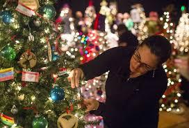 Darth Vader Christmas Tree Topper by Festival Of Trees Christmas Tree Setup Ljworld Com
