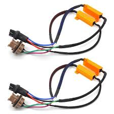 load resistors for led lights ysy 1pair 50w 8ohm car led lights singal load resistor led bulb fast