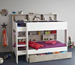 girls white beds taylor bunk bed with drawer for children u0026 kids in s a