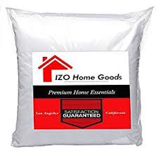 decorative pillows home goods amazon com izo home goods premium hypoallergenic throw pillow