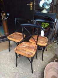 Bistro Patio Chairs by Vintage Bentwood Style Bistro Patio Chairs Solid Wood Or Funky