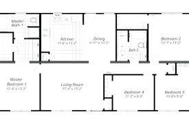 small 4 bedroom floor plans small 4 bedroom house plans 4 master bedroom house plans small 4
