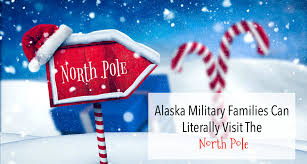 santa claus house north pole ak alaska military families can literally visit the north pole army