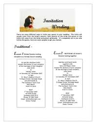 Invitation Wording Wedding Wedding Invitation Wording From Bride And Groom Wedding