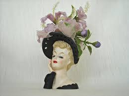 Napco Lady Head Vase 499 Best Head Vases Images On Pinterest Vintage Ladies Vintage