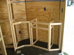 v nose enclosed trailer cabinets v nose trailer cabinet plans best cabinets decoration