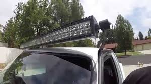 48 inch led light bar ford ranger 50 inch led light bar youtube