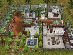 Home Design Plans Video by House 58 Ground Level Sims Simsfreeplay Simshousedesign