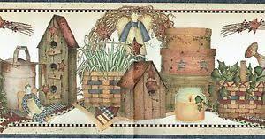 birdhouse wallpaper border ebay