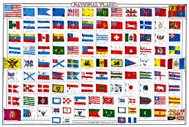 Flag Of The World National Flags Of The World Published By J H Colton C 1860s