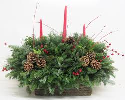 christmas arrangements centerpieces u0026 greenery arrangements