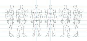 character templates 4 males by stourangeau on deviantart