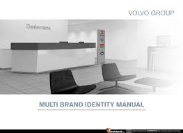 volvo group brand manual corporate identity guidelines pdf download categories