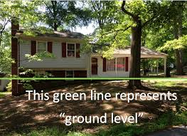 split level home how should a split level home measured the real estate appraisal