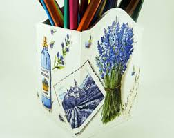 Pencil Holders For Desks Wood Pencil Holder Etsy