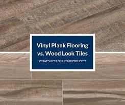 is vinyl flooring better than laminate vinyl plank flooring vs wood look tile which is best for
