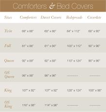 Full Size Duvet Cover Measurements Bedding Fit Guide Cuddledown