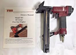 Bostitch Flooring Nailer Owners Manual by Porta Nails Portamatic Elevator 18 Gauge Floor Stapler Model 461 W