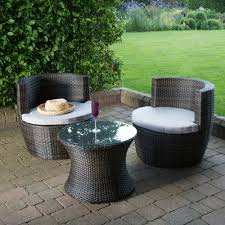 Garden Coffee Table Rattan Table And Chairs Glass Topped Table 2 Seats