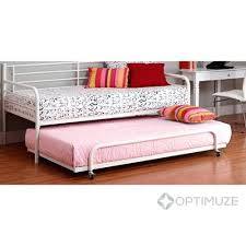 metal day bed daybed frame pop up trundle trundle bed daybed with