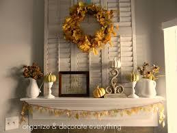 thanksgiving decor thanksgiving mantel organize and decorate