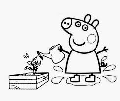 peppa pig coloring pages printable pdf colouring glum
